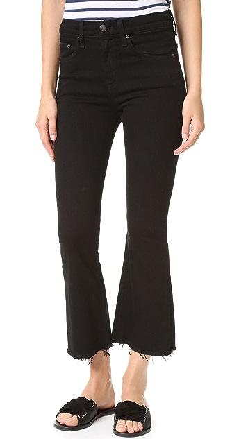 frayed cropped jeans - Black Rag & Bone Discount Wide Range Of sJ50acRiX