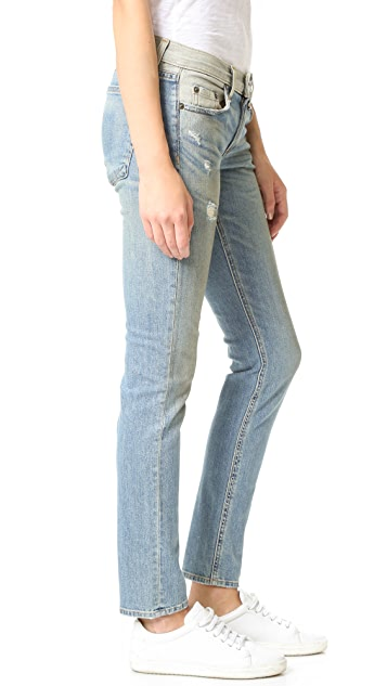 Rag & Bone/JEAN The Dre Slim Fit BF Jeans