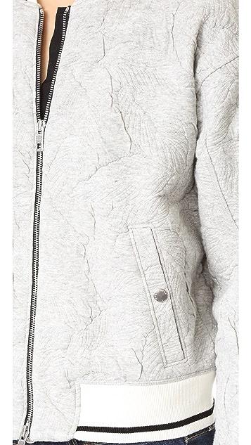 Rag & Bone/JEAN Quilted Bomber Jacket
