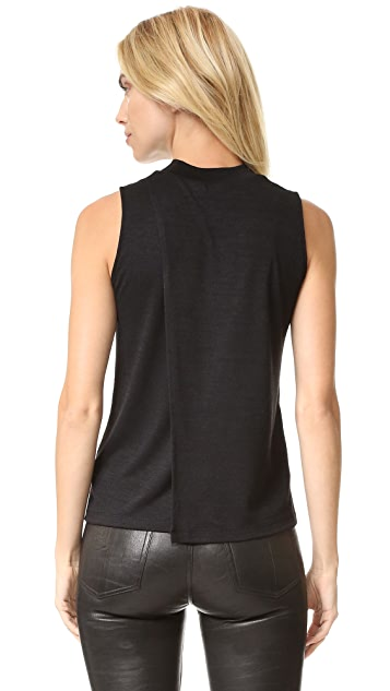 Rag & Bone/JEAN Hudson Mock Neck Top