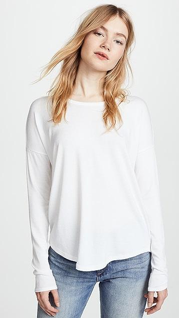 Rag & Bone/JEAN Hudson Pullover - White
