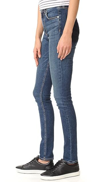 Rag & Bone/JEAN Dive Skinny Jeans