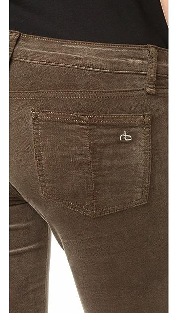 Rag & Bone/JEAN Skinny Velvet Jeans