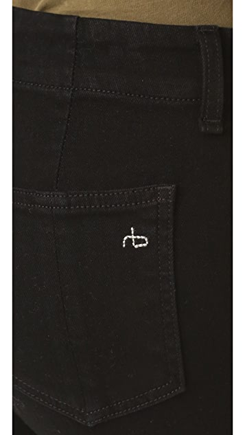 Rag & Bone/JEAN Denny Skinny Jeans