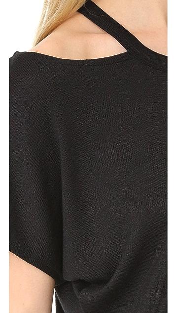 Rag & Bone/JEAN Cutout Short Sleeve Tee