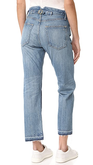 Rag & Bone/JEAN Marilyn Buckle Back Jeans