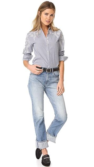 Rag & Bone/JEAN Stripe Sahara Shirt