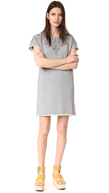 Rag & Bone/JEAN Eyelet Tee Dress
