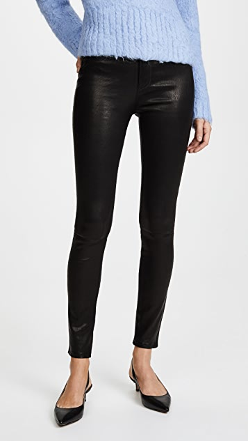 Rag & Bone leather jeans