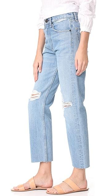 Rag & Bone/JEAN Rigid Straight Leg Jeans