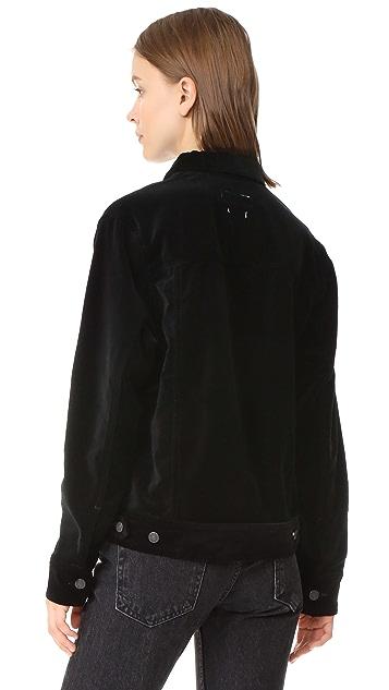 Rag & Bone/JEAN Oversized Velvet Jacket