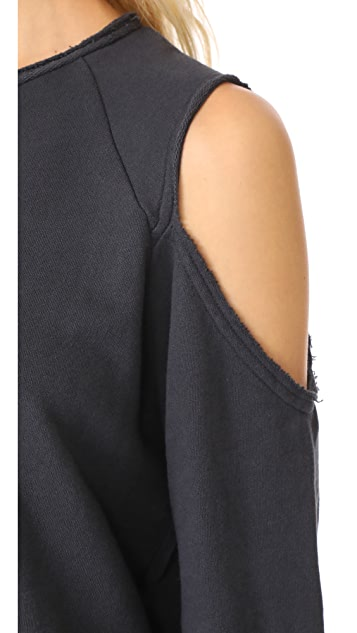 Rag & Bone/JEAN Standard Issue Slash Pullover