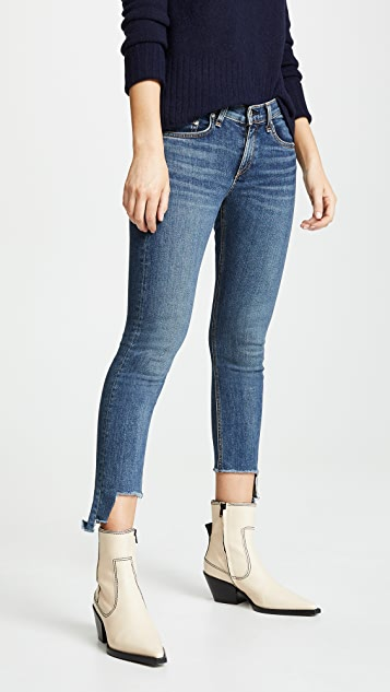 Rag & Bone/JEAN Cate Mid Rise Ankle Skinny Jeans
