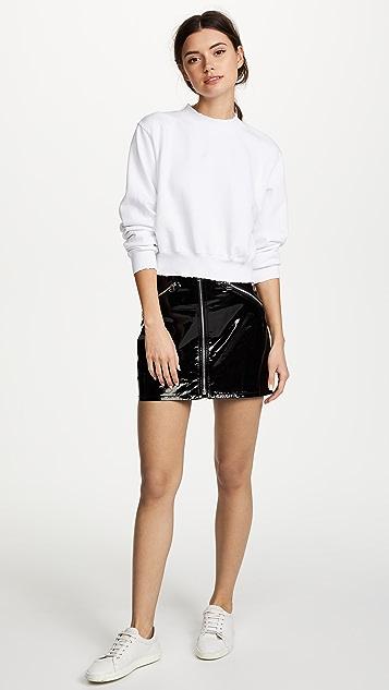 Rag & Bone/JEAN Racer Miniskirt