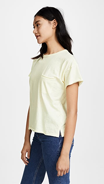 Rag & Bone/JEAN Pocket Crew Tee