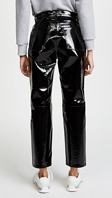 Rag & Bone/JEAN The Straight Patent Leather Pants