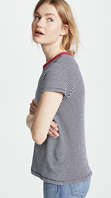 Rag & Bone/JEAN Striped Tee