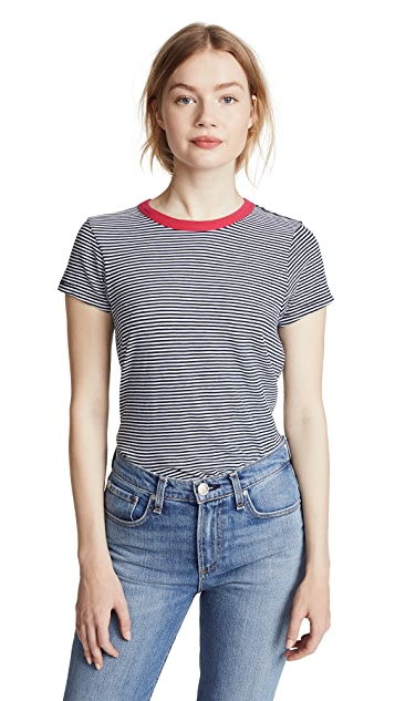 Striped Tee by Rag & Bone/Jean