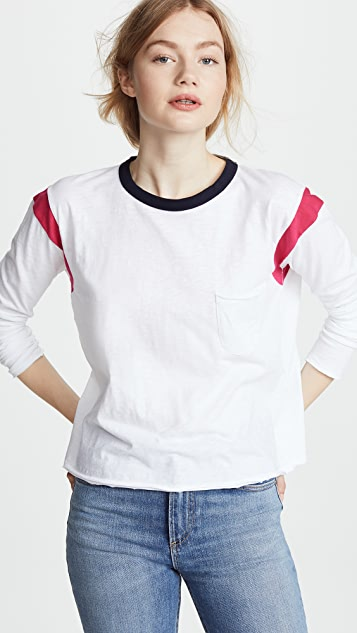 Rag & Bone/JEAN Percy Long Sleeve Tee