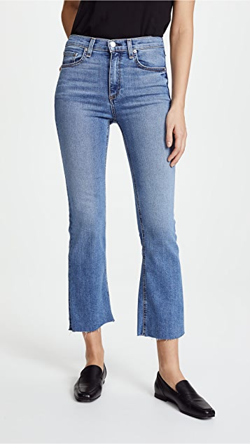 Buy Cheap Footlocker Pictures Hana cropped bootcut jeans Rag & Bone Free Shipping View Xy8DE2