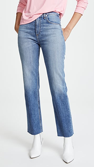 Straight-cut jeans Rag & Bone Free Shipping Release Dates Collections Discount Best Wholesale 6rsOutEp9