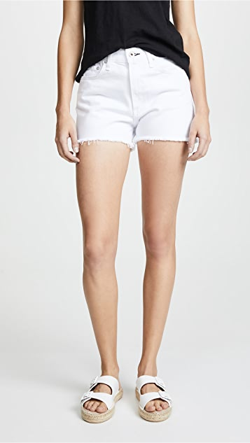 Rag & Bone/JEAN Justine Shorts - White