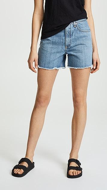 Rag & Bone/JEAN Torti Shorts