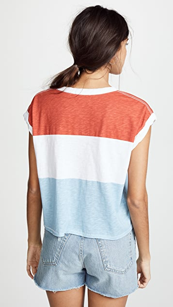 Rag & Bone/JEAN Percy Mucle Tee