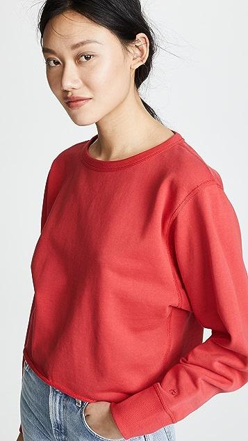 Rag & Bone/JEAN Cropped Pullover