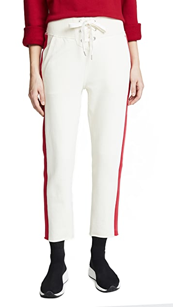 Rag & Bone/JEAN Hadley Lace Up Sweats