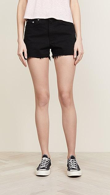 Rag & Bone/JEAN Justine High Rise Shorts