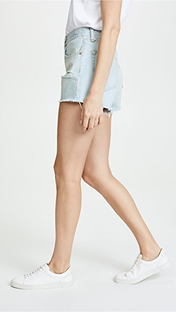 Rag & Bone/JEAN Justine High Rise Shorts