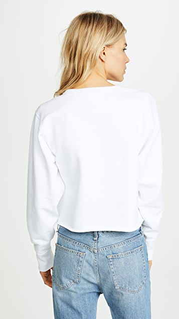 Rag & Bone/JEAN Glitch Sweatshirt