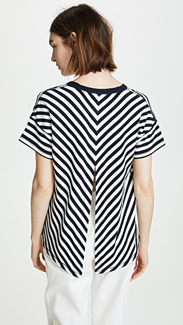 Rag & Bone/JEAN Kat Split Back Tee