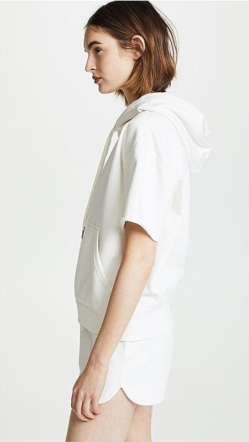 Rag & Bone/JEAN Short Sleeve Hoodie