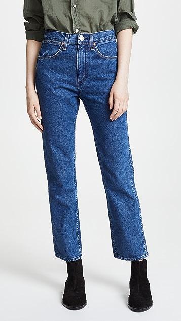 Rag & Bone/JEAN Vintage Straight Jeans