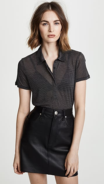 Rag & Bone/JEAN Dawson Polo Shirt