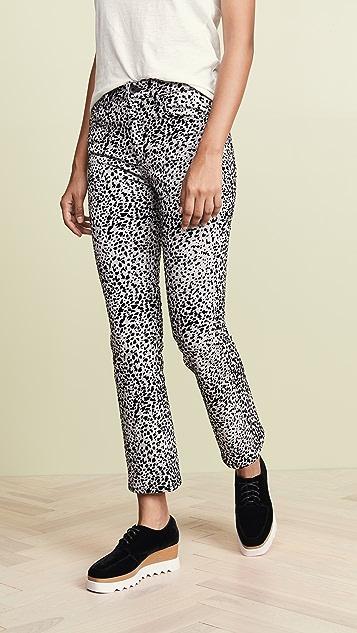 Rag & Bone/JEAN Укороченные джинсы Hana с высокой посадкой