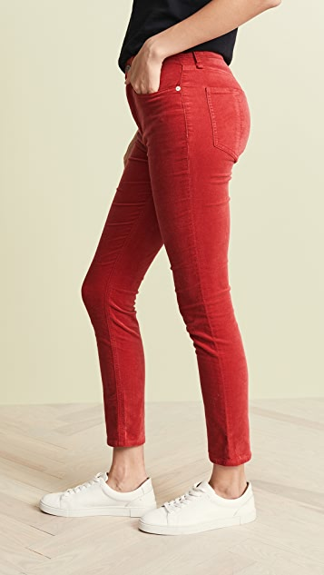 Rag & Bone/JEAN High Rise Skinny Velvet Pants