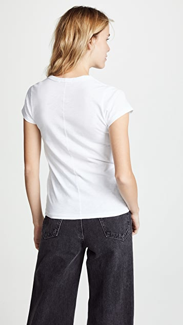 Rag & Bone/JEAN Double Heart Tee