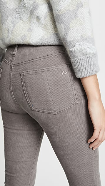 Rag & Bone/JEAN High Rise Corduroy Skinny Pants