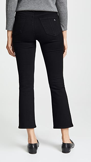 Rag & Bone/JEAN The Hana Cropped High Rise Jeans