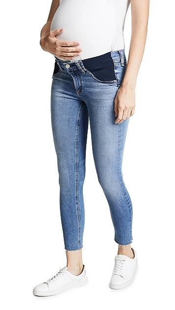Rag & Bone/JEAN Cropped Maternity Jeans