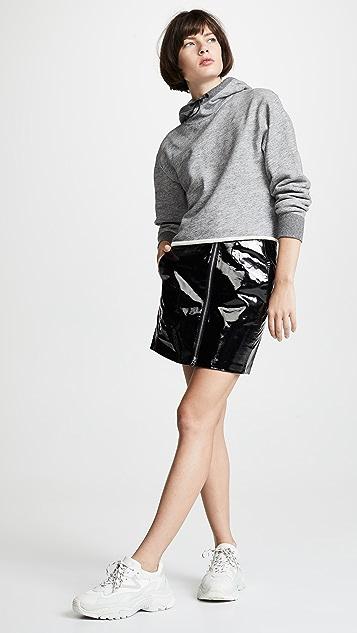 Rag & Bone/JEAN Heidi Patent Skirt