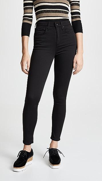 Rag & Bone/JEAN The Plush Skinny Jeans