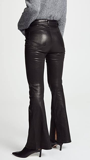 Rag & Bone/JEAN The Bella Leather Pants