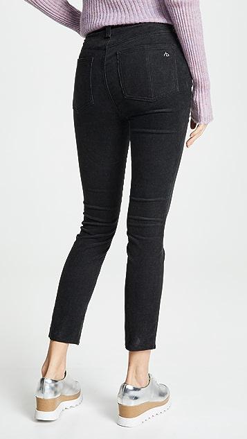 Rag & Bone/JEAN Rosie Corduroy Ankle Skinny