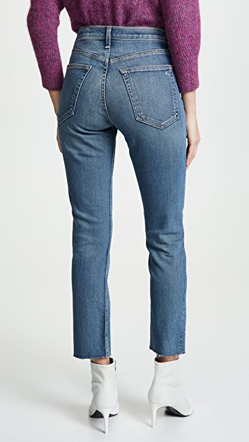 Rag & Bone/JEAN High Rise Ankle Dre Slim BF Jeans