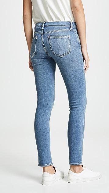 Rag & Bone/JEAN 高腰紧身牛仔裤
