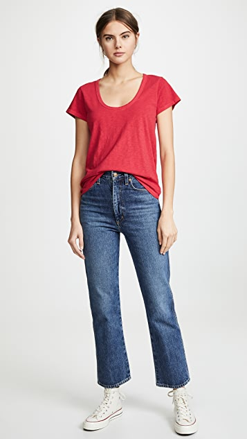 Rag & Bone/JEAN U Neck Tee